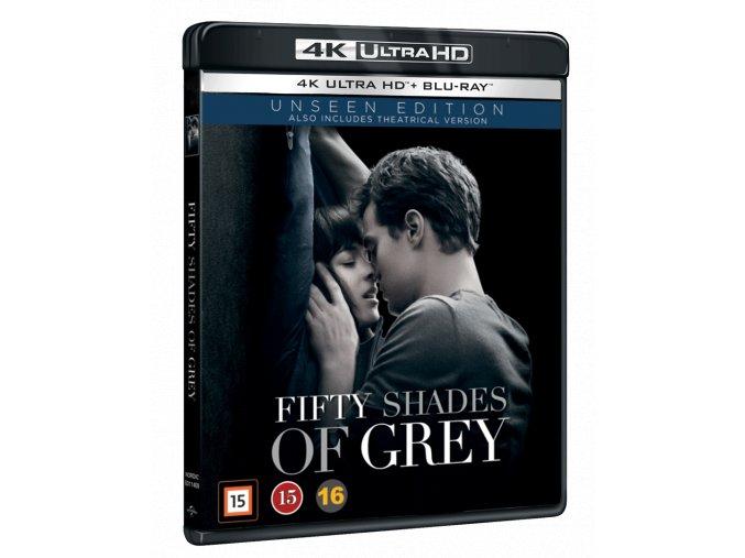 Padesát odstínů šedi (4k Ultra HD Blu-ray + Blu-ray)