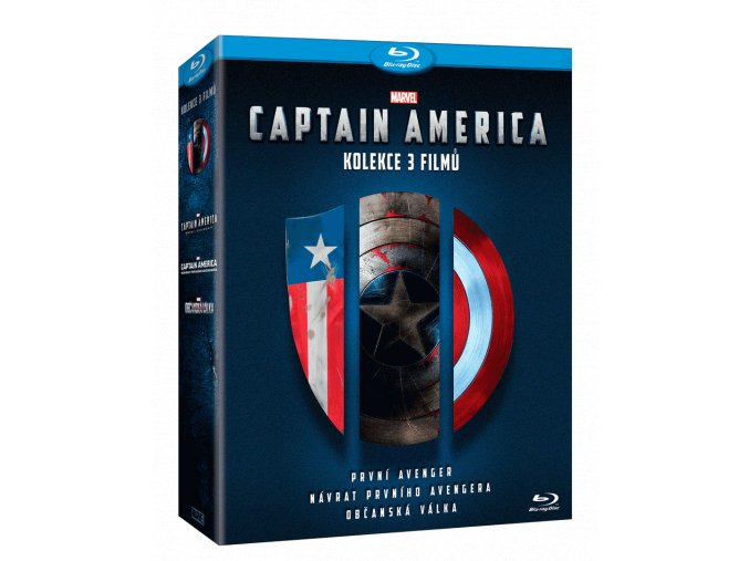 Captain America  (Kolekce 1-3)