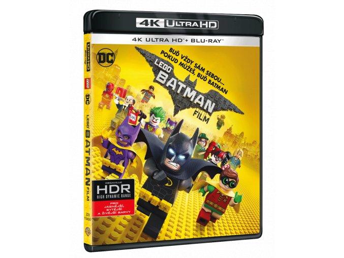 Lego Batman Film (4k Ultra HD Blu-ray + Blu-ray)