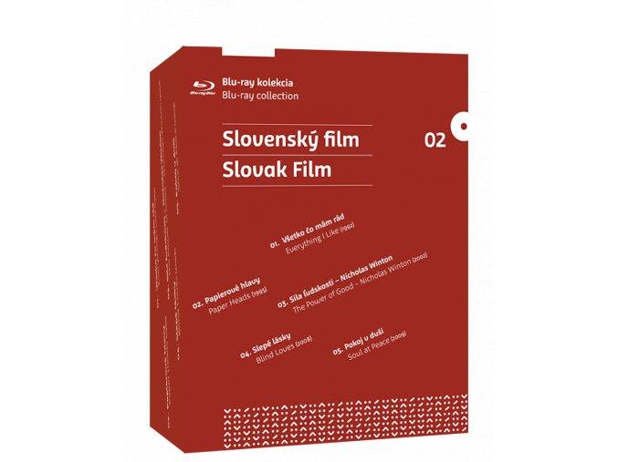 Slovenský film (Blu-ray kolekce pěti filmů)