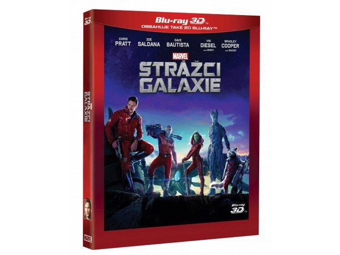 Strážci Galaxie (Blu-ray 3D + Blu-ray)