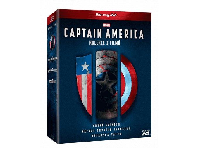 Captain America - trilogie  (3D)