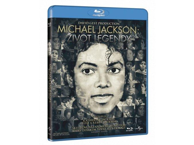 Michael Jackson: Život legendy (Blu-ray)