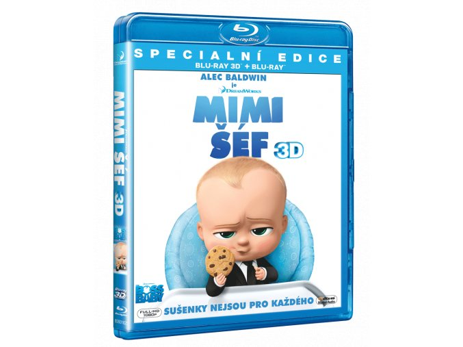 Mimi Šéf (Blu-ray 3D + Blu-ray 2D)