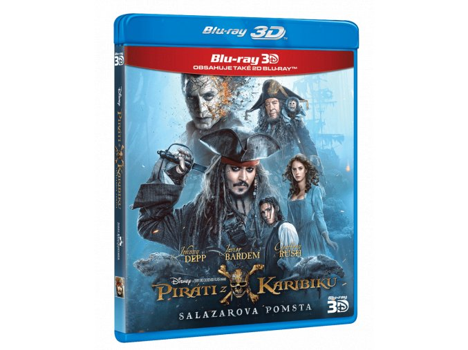Piráti z Karibiku: Salazarova pomsta (Blu-ray 3D + Blu-ray 2D)