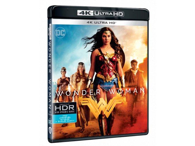 Wonder Woman (4k Ultra HD Blu-ray + Blu-ray)