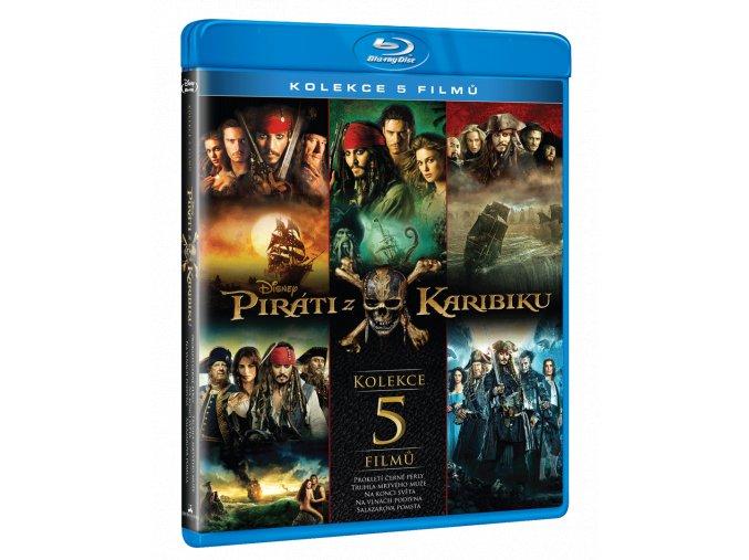 Piráti z Karibiku (Blu-ray kolekce 1-5)