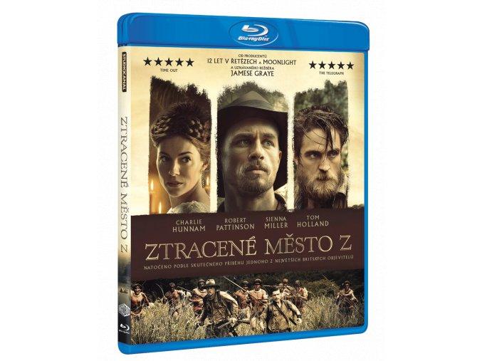 Ztracené město Z (Blu-ray)
