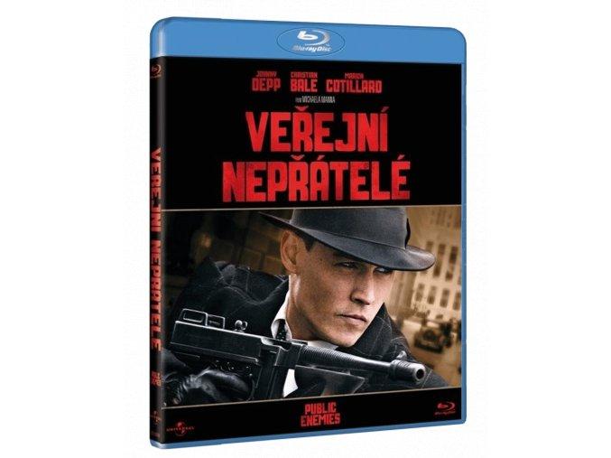 Veřejní nepřátelé (Blu-ray)