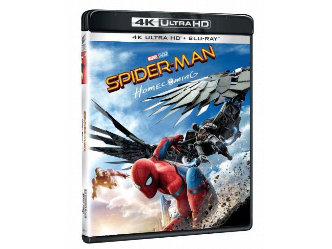 Spider-Man: Homecoming (4k Ultra HD Blu-ray + Blu-ray)