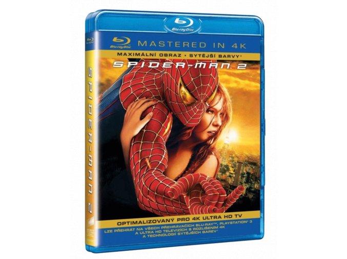 Spider-Man 2 (Blu-ray, Mastered in 4k)