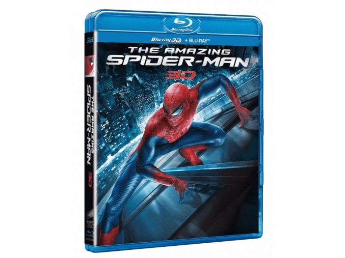 Amazing Spider-Man (Blu-ray 3D/2D + bonusový Blu-ray)