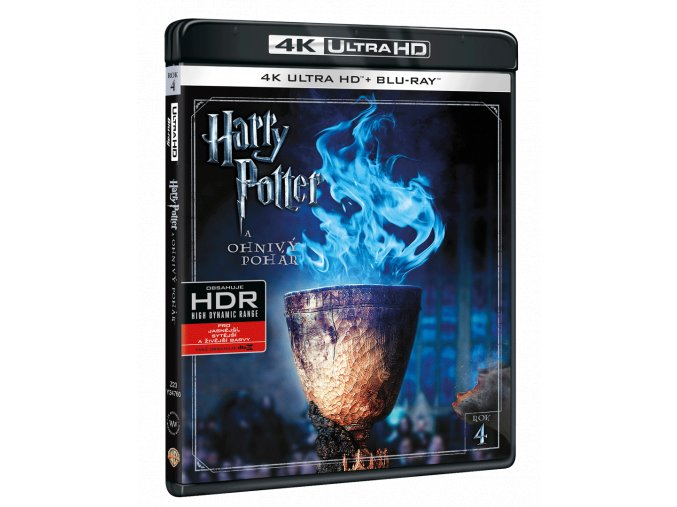 Harry Potter a Ohnivý pohár (4k Ultra HD Blu-ray + Blu-ray)