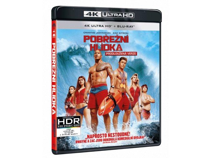 Pobřežní hlídka (4k Ultra HD Blu-ray + Blu-ray)