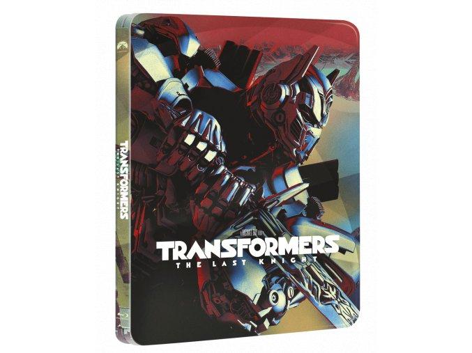 Transformers: Poslední rytíř (Blu-ray 3D + Blu-ray 2D + bonusový Blu-ray, Steelbook)