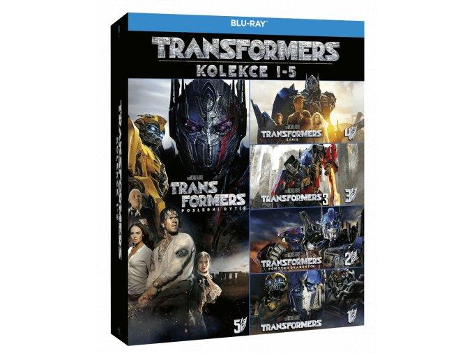 Transformers 1-5 (5x Blu-ray)