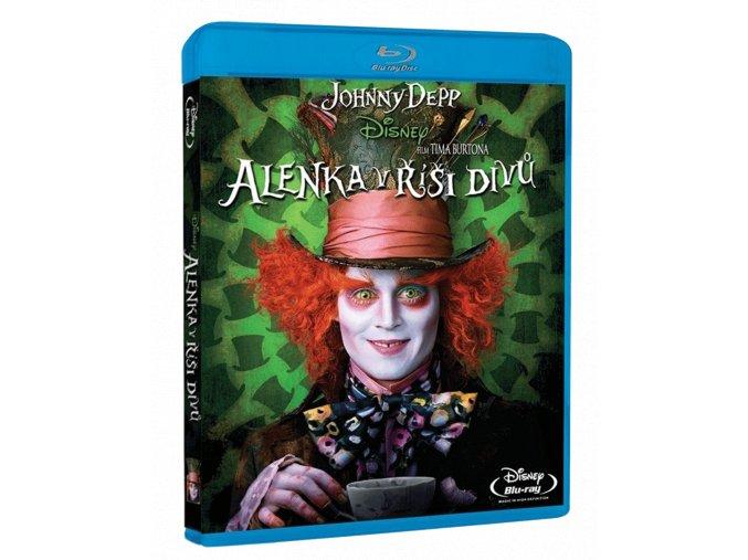 Alenka v říši divů (Blu-ray)