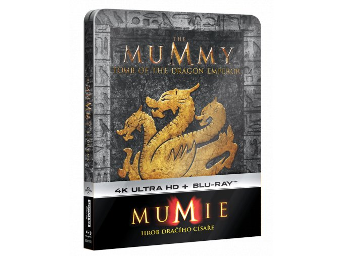 Mumie: Hrob dračího císaře (4k Ultra HD Blu-ray + Blu-ray, Steelbook)