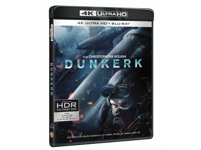 Dunkerk (4k Ultra HD Blu-ray + Blu-ray)