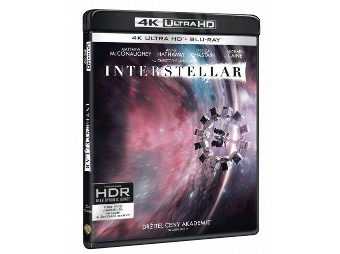 Interstellar (4k Ultra HD Blu-ray + Blu-ray + bonusový disk)