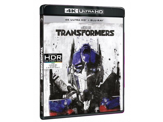 Transformers (4k Ultra HD Blu-ray + Blu-ray)