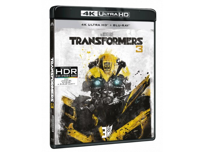 Transformers 3 (4k Ultra HD Blu-ray + Blu-ray)