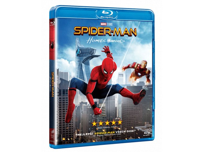 Spider-Man: Homecoming (Blu-ray s komiiksem)
