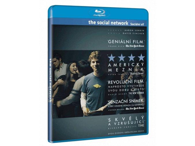 The Social Network - Sociální síť (2x Blu-ray)