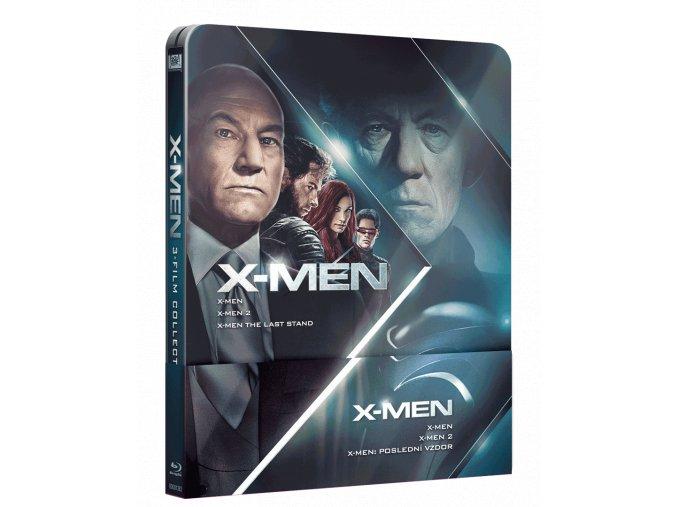 X-Men Trilogie 1-3  (Steelbook)