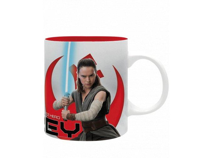 Hrnek Star Wars - Rey (Poslední z Jediů, 320 ml)