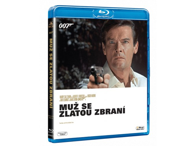 Muž se zlatou zbraní (Blu-ray)