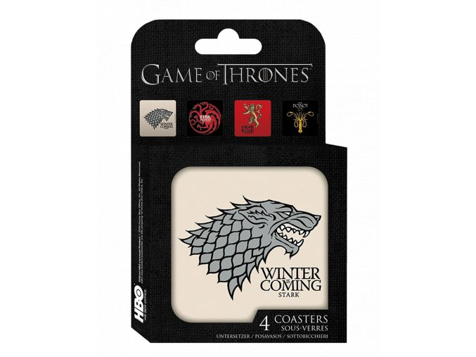 Podtácky Game of Thrones