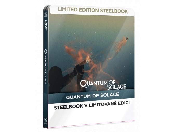 Quantum of Solace (Blu-ray, Steelbook)