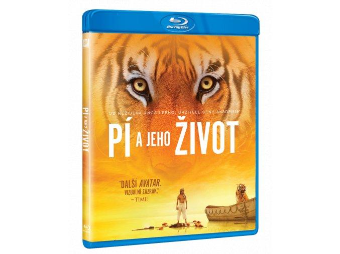 Pí a jeho život (Blu-ray 3D + Blu-ray 2D)