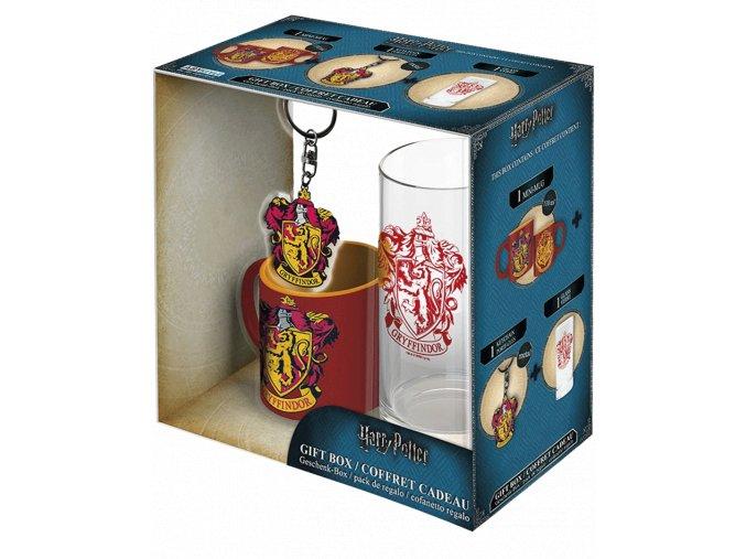 Dárkový set Harry Potter - Nebelvír