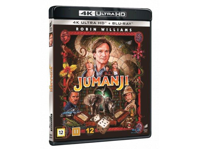 Jumanji (4k Ultra HD Blu-ray + Blu-ray, CZ a SK podpora pouze na UHD)