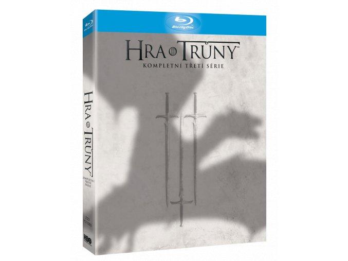 Hra o trůny - 3. sezóna s dabingem (Blu-ray, viva balení)