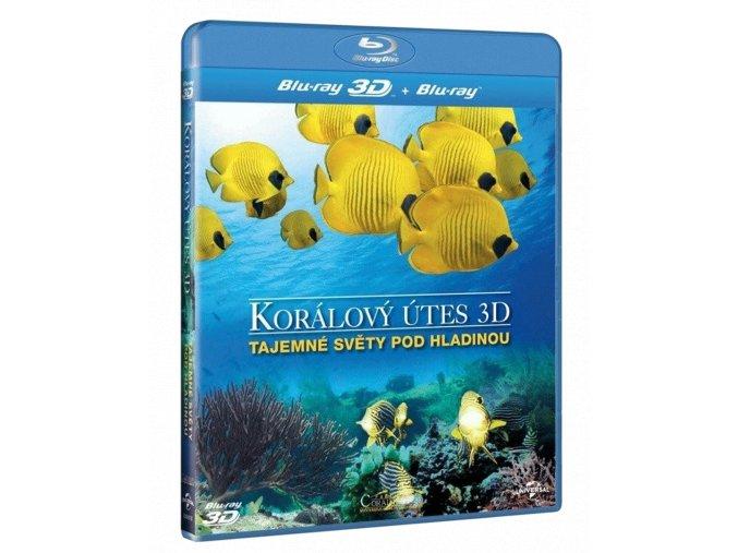 Korálový útes 3D - Tajemné světy pod hladinou (Blu-ray 3D + 2D)
