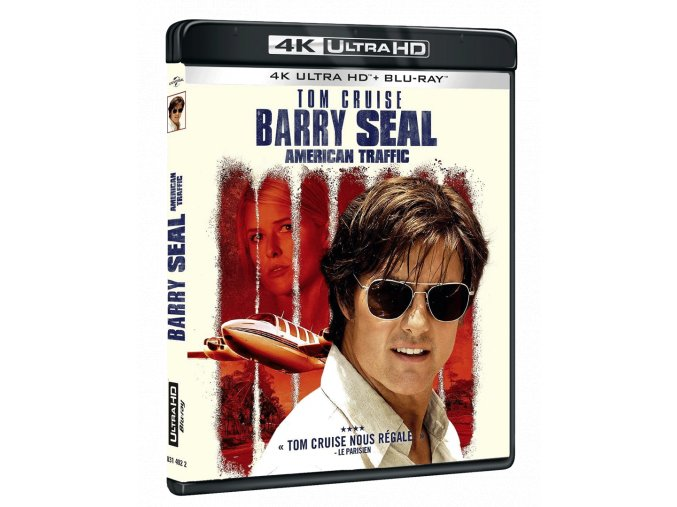 Barry Seal: Nebeský gauner (4k Ultra HD Blu-ray + Blu-ray)