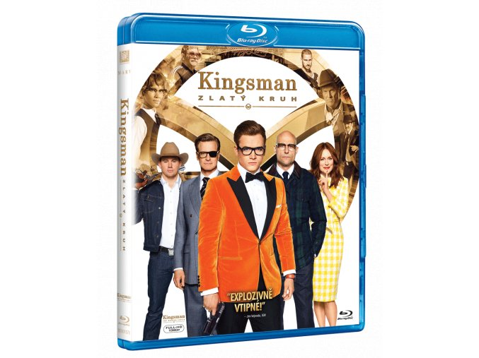 Kingsman: Zlatý kruh (Blu-ray)