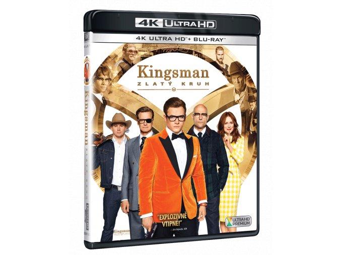 Kingsman: Zlatý kruh (4k Ultra HD Blu-ray + Blu-ray)