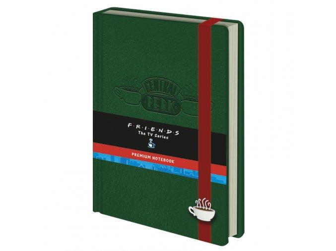Zápisník Přátelé: Central Perk (A5)