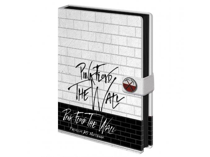 Zápisník Pink Floyd: The Wall (A5)