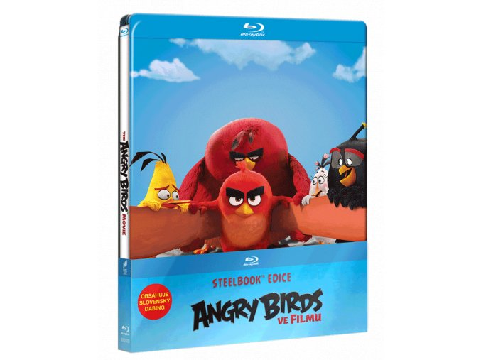Angry Birds ve filmu (Blu-ray, Steelbook)