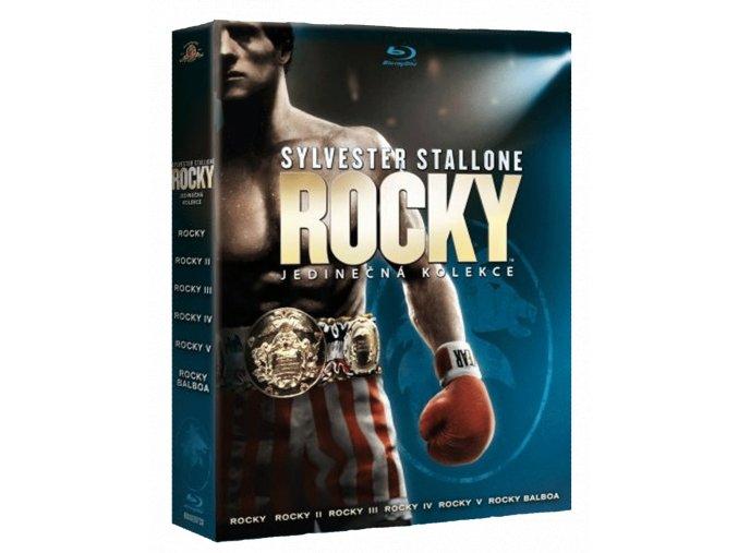 Rocky (Blu-ray kolekce 1-6, 6x Blu-ray)