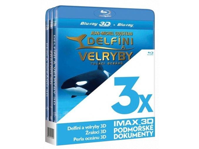 Podmořské dokumenty IMAX (3x Blu-ray 3D)