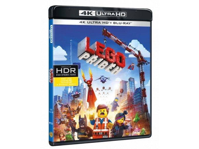 Lego příběh (4k Ultra HD Blu-ray + Blu-ray)