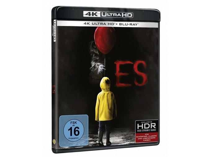 To (2017, 4k Ultra HD Blu-ray + Blu-ray, CZ pouze na UHD)