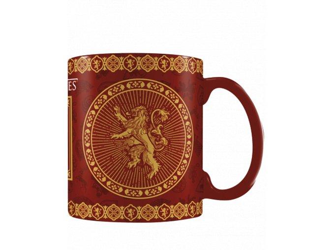 Měnící se hrnek Game of Thrones: Lannister (315 ml)