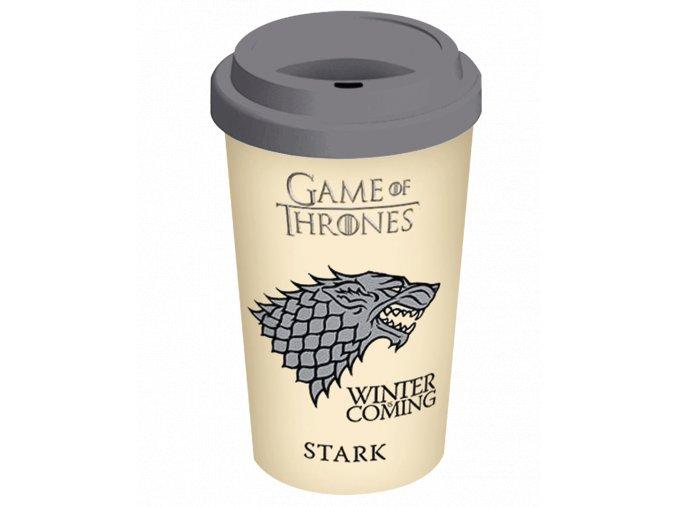 Cestovní Hrnek Game of Thrones: Stark (340 ml)